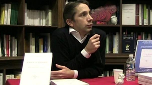 Xavier Pavie à la Librairie Guillaume Budé