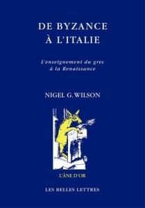 Wilson De Byzance à l'Italie