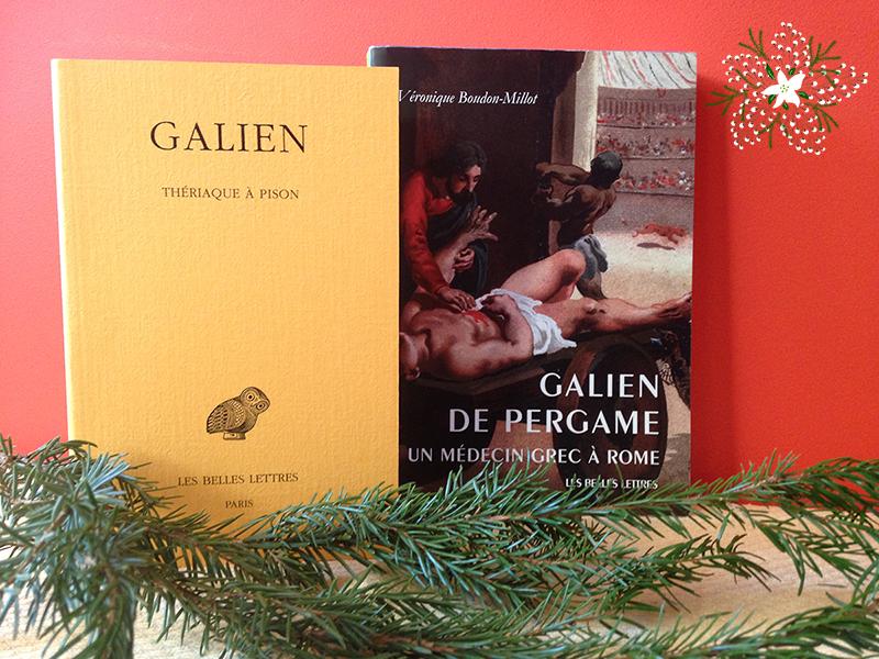 Galien Marc Aurele Et La Theriaque Editions Les Belles Lettres