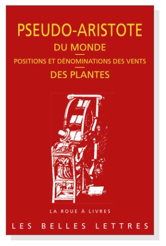 Aristote Du Monde Des Plantes