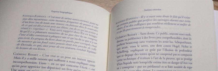 Clément Rosset Esquisse biographique extrait