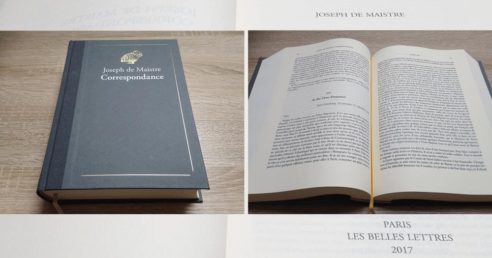 Introuvable Depuis Plus D Un Siecle La Correspondance De Joseph De