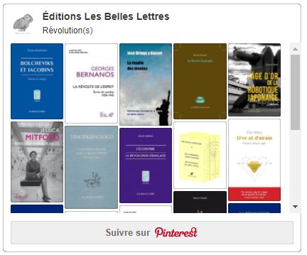 Révolutions Belles Lettres