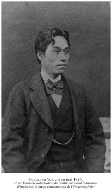 Yukichi en 1876